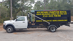 residential dumpster rental services