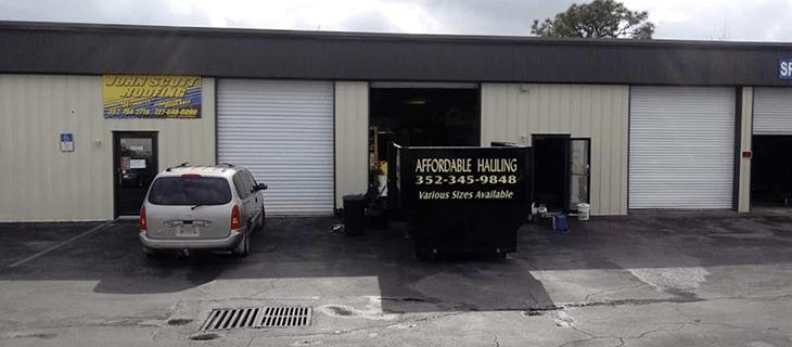 North Weeki Wachee CDP Dumpster Rentals